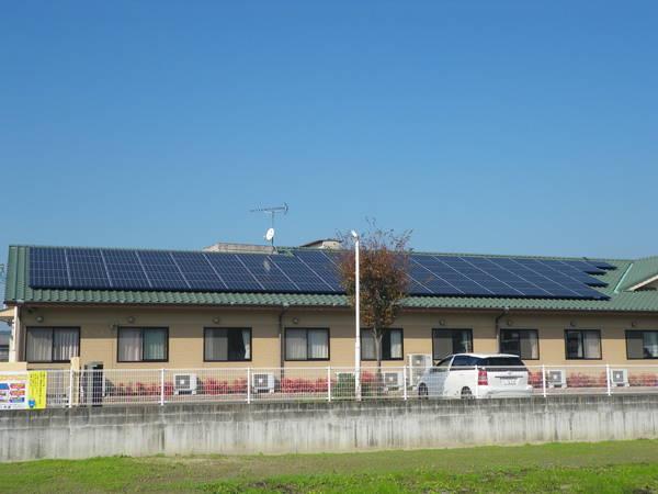 産業用ソーラーパネル01