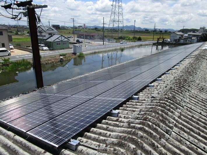 産業用ソーラーパネル05のサムネイル